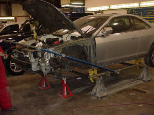 Collision repairs in Vancouver, BC